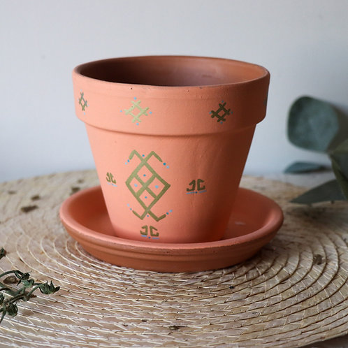 FIGARI - Pots de fleur en terre cuite design