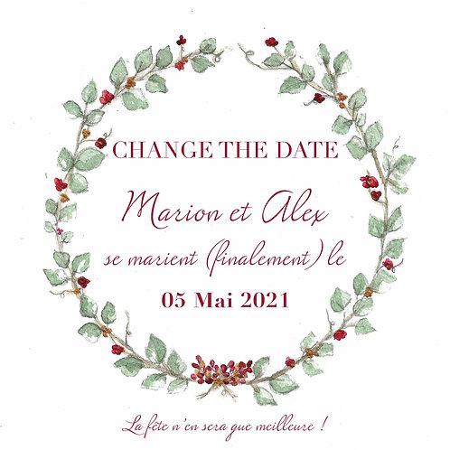 Change The Date - gratuit avec CHANGETHEDATE2020 - bohème-chic