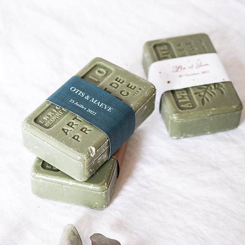 HABBU - Savon de Provence étiqueté - Cadeau invité mariage