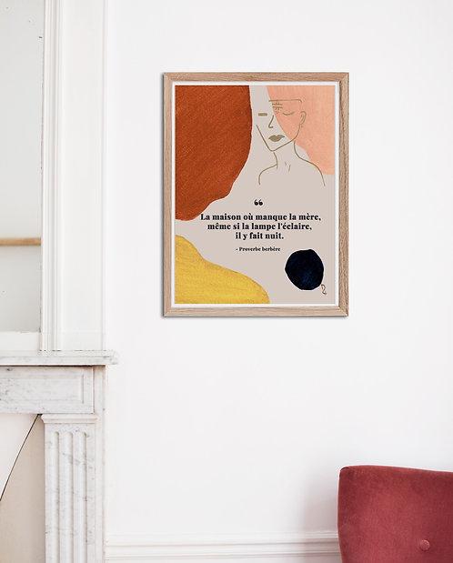 KEA - Affiche aquarelle A4