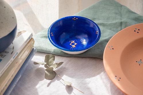 BALOS - Petits bols en porcelaine bleu Luz