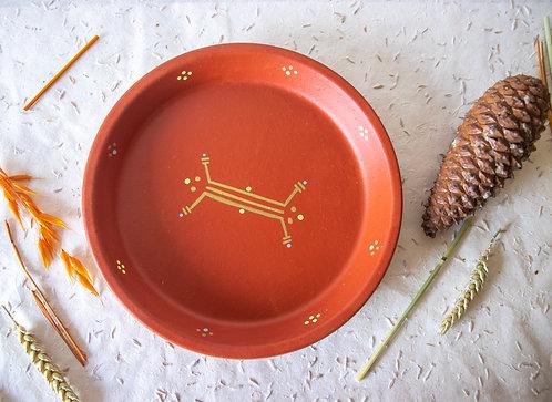 LINDOS - Vide-poche en terre cuite terracotta