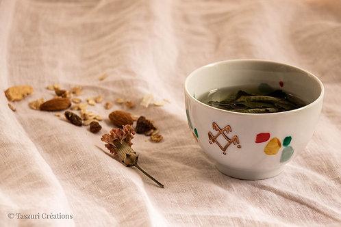 GORDES - Petits bols à thé terrazzo