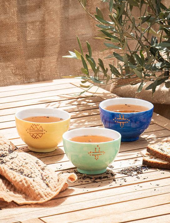 Assortiment GORDES - set de 3 bols pour le thé