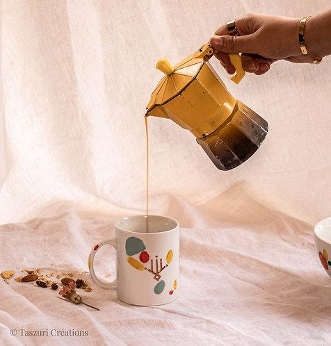 BOSSEA - Mug en porcelaine terrazzo