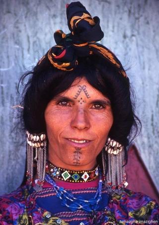 A La Decouverte Des Tatouages Berberes