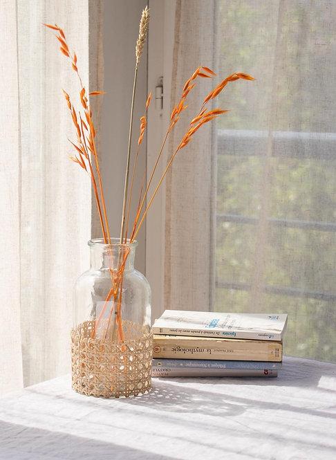 CALELLA - Vase en cannage