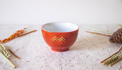 GORDES - Petits bols à thé terracotta