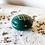 Thumbnail: TIZA - Boîtes à bijoux en terre cuite vert foncé