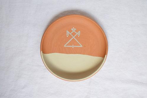 Coupelle en terre cuite minimaliste