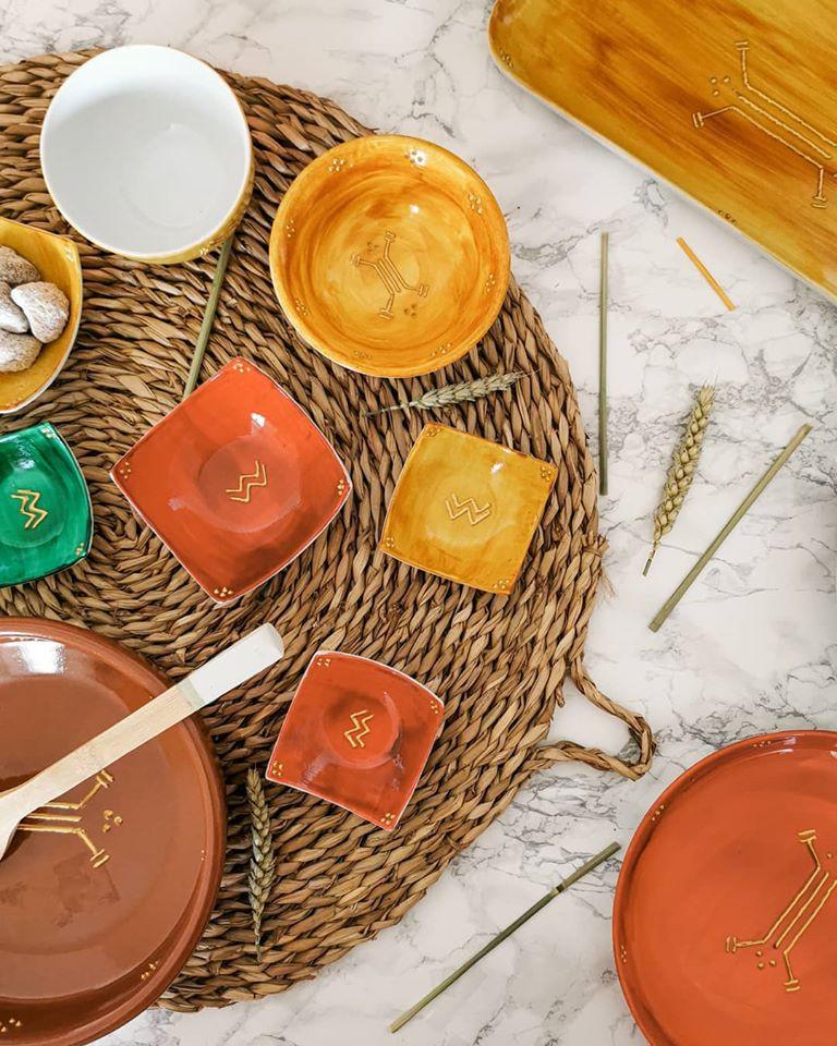 art de la table taszuri vaisselle automne