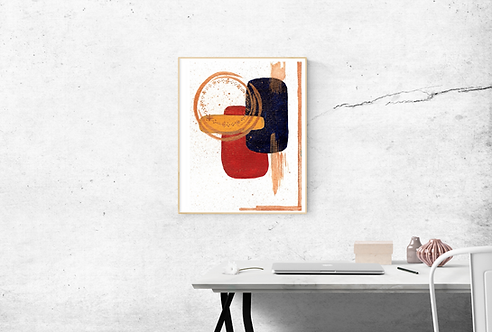 TORTOSA - Affiche aquarelle