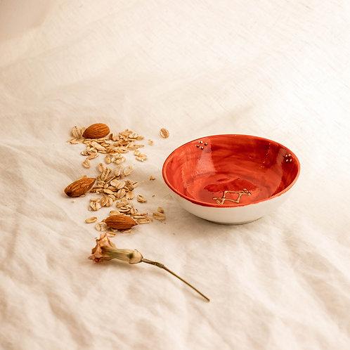 PALERME - Coupelle apéritif en porcelaine terracotta