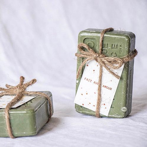 HABBU - Savon de Provence avec fil de jute - Cadeau invité mariage