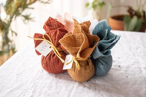 LILIA - Kit DIY de sachets de lavande - Cadeau invité mariage
