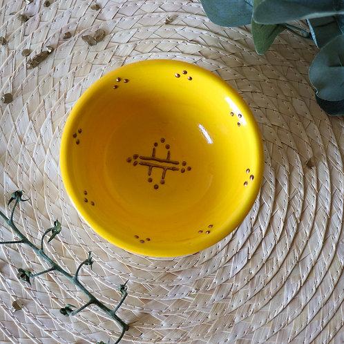 BALOS - Petits bols en porcelaine jaune
