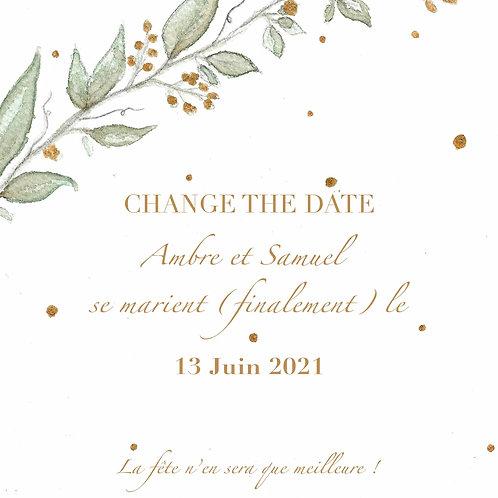 Change The Date - gratuit avec CHANGETHEDATE2020 - champêtre