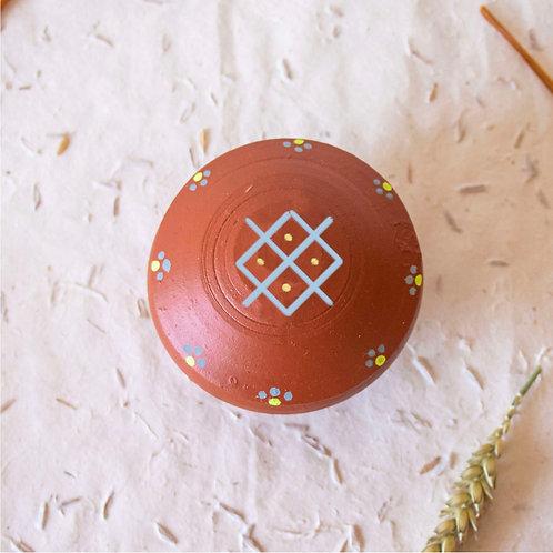 Boîte à bijoux TIZA personnalisée rouge - femme