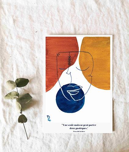 ISEFRA - Illustration - Cadeau pour invités non matérialistes
