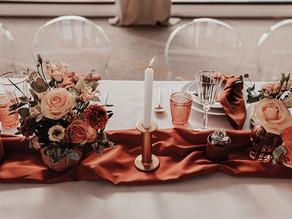 4 variantes pour un mariage terracotta
