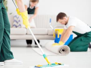 ¿Cómo se puede limpiar una casa antes de alquilarla o venderla?