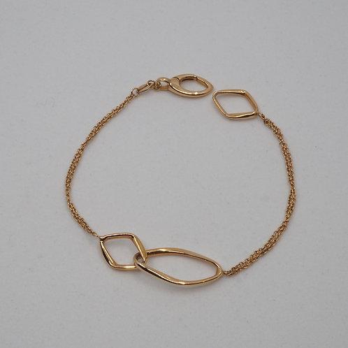 Bracelet formes entremêlées