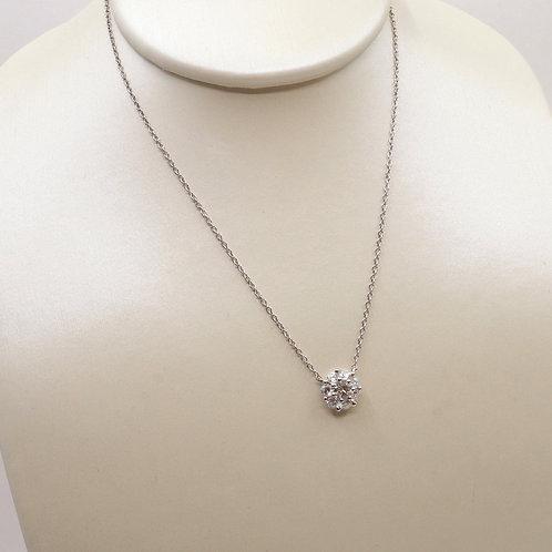 Pendentif diamants accumulation