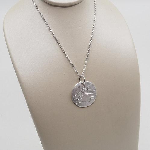 Médaille sainte victoire 15 mm et diamant