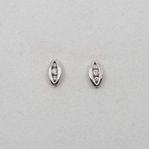 Boucles 3 diamants