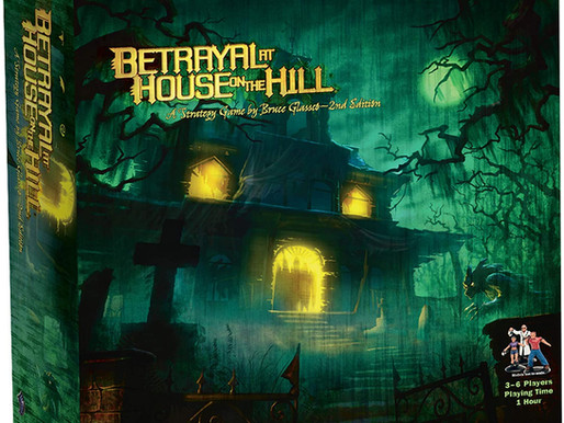 Creepy good, or just another horror?... we review Betrayal at House on the Hill