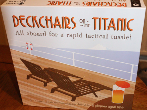 Cruise to victory with Deckchairs on the Titanic
