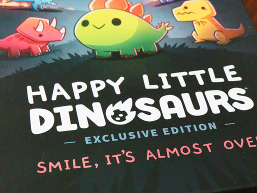 """Smile, it's almost over for our """"Happy Little Dinosaurs"""""""