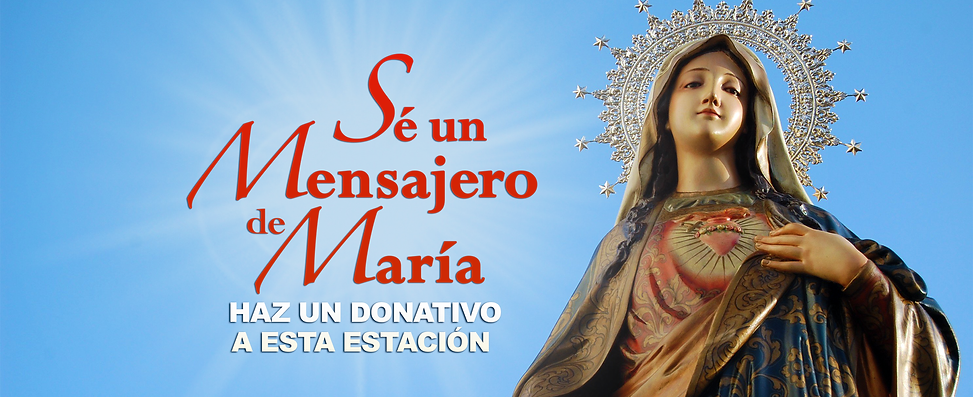 fundarising Virgen Mary