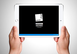 Nouveauté RP – Newsroom Mobile App
