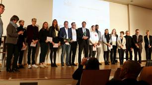 Trophées Club INSEP Alumni - Olivier Krumbholz et Bruno Marie-Rose récompensés