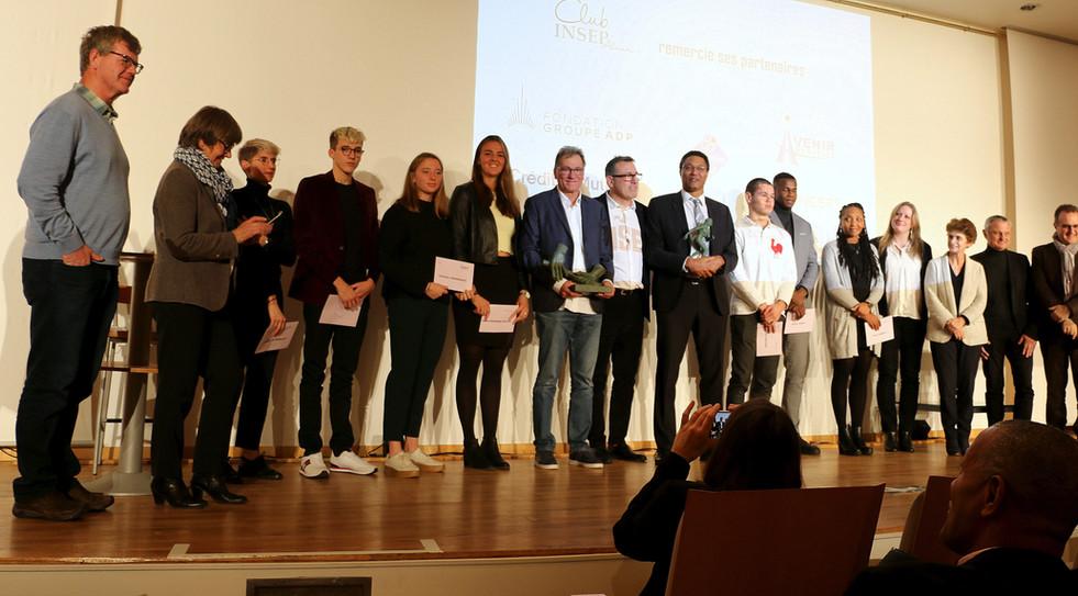 Lauréats 2019 Trophées Club INSEP Alumni
