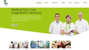 Nouvelle présence online pour Medical Eye-Care MVZ GmbH