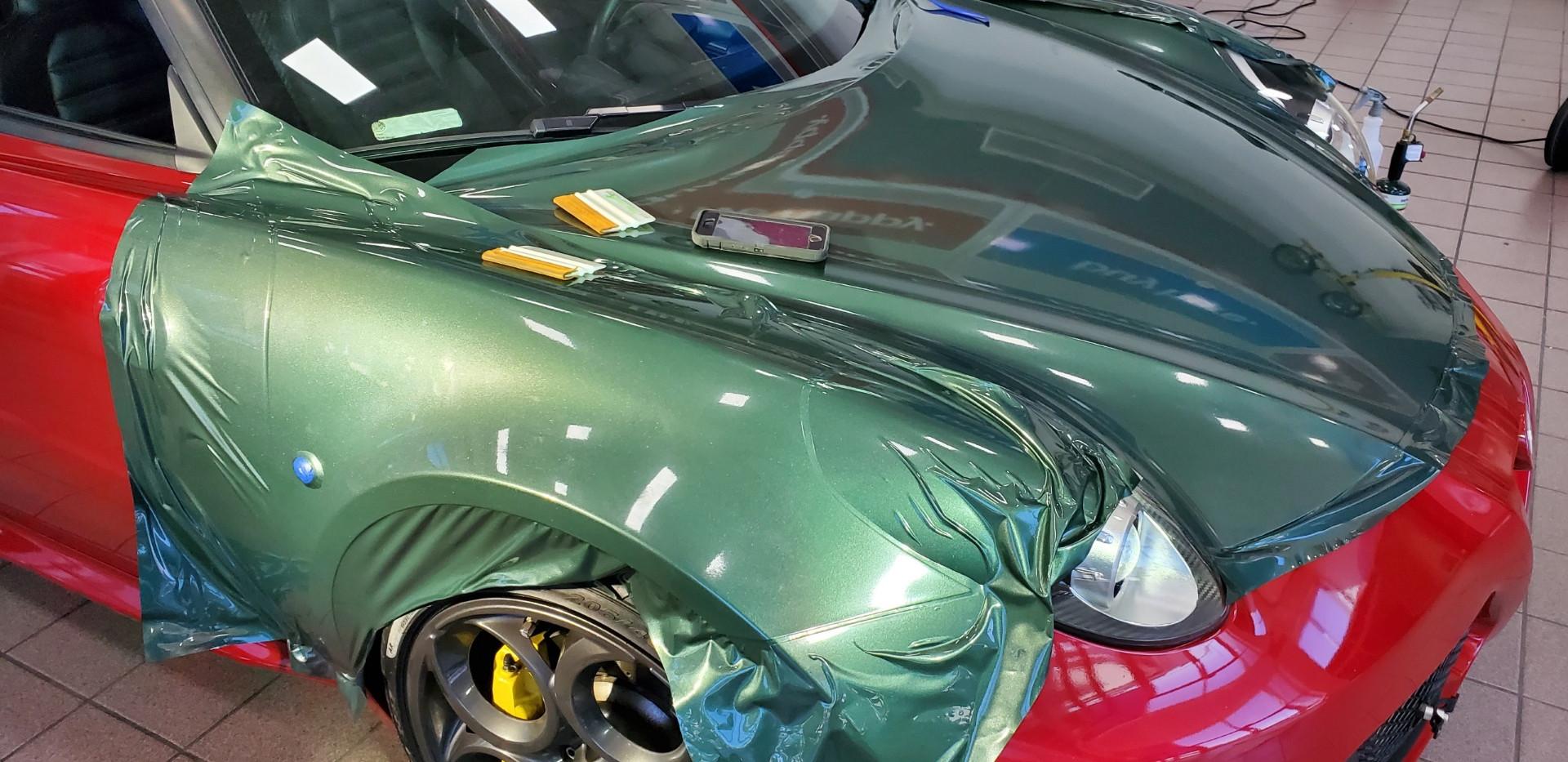 Alfa Romeo Wrap Process