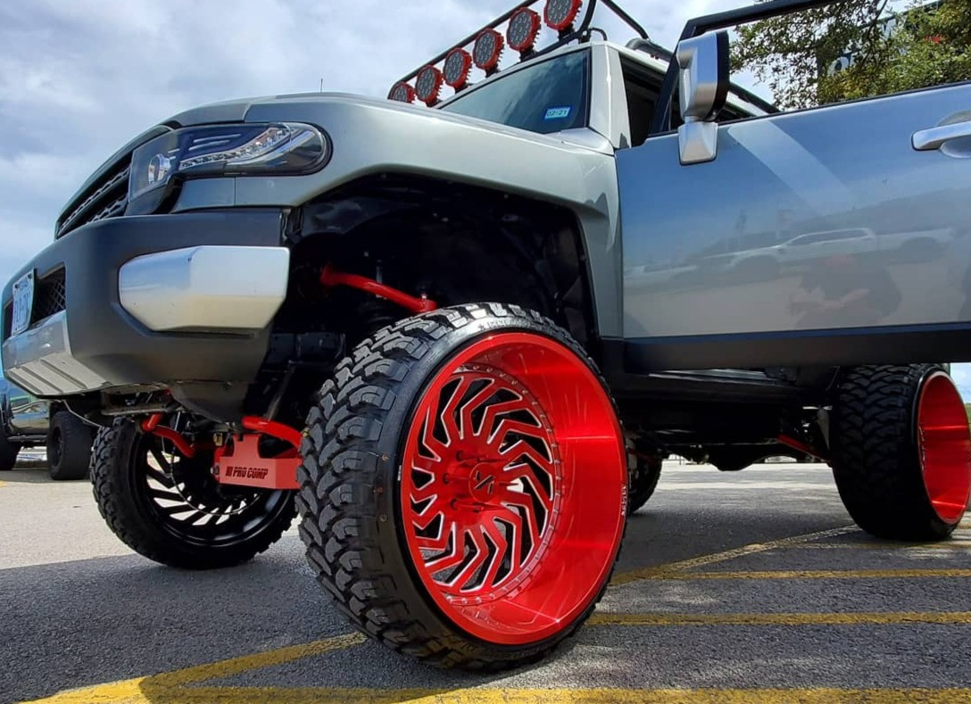 Red Rims are HOT