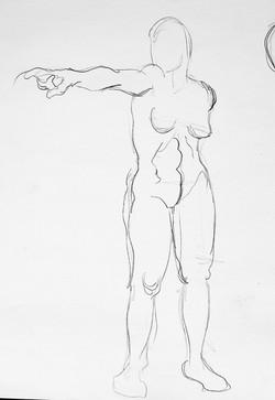 _Gesture Figure Study_ graphite