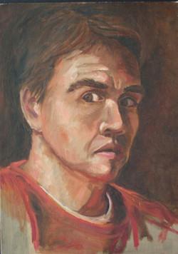 _Self Portrait_ Oil Paint 02