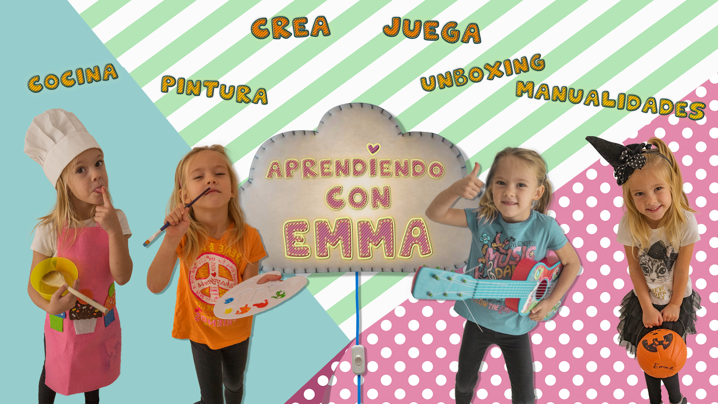 Aprenciendo con Emma Cabecera Youtube