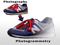 zapatillas fotogrametria