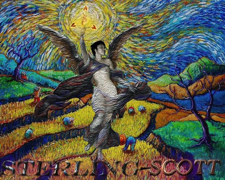 STERLING SCOTT's Van Gogh Angel