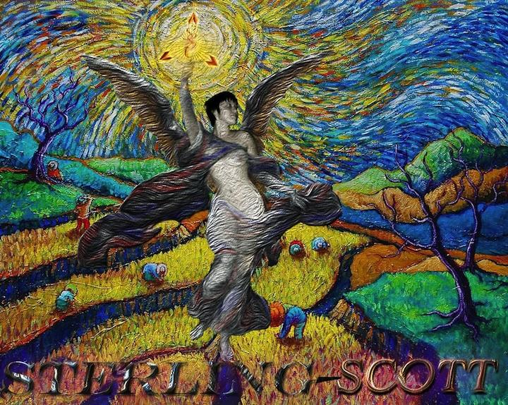 STERLING SCOTT's Van Gogh Angel