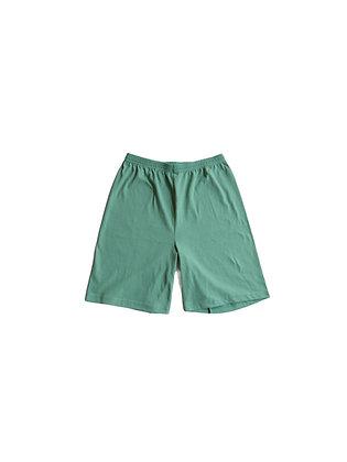Jade Green Up-Cycled Shorts