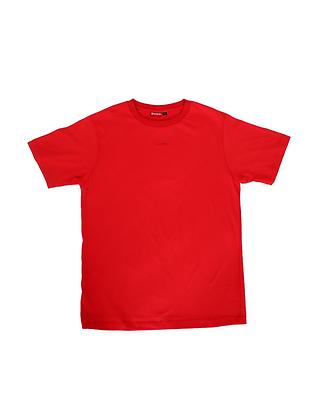 """Red-Orange """"humble.""""T-shirt"""