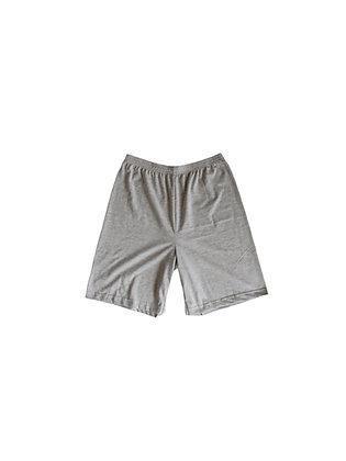 Light Grey Up-Cycled Shorts