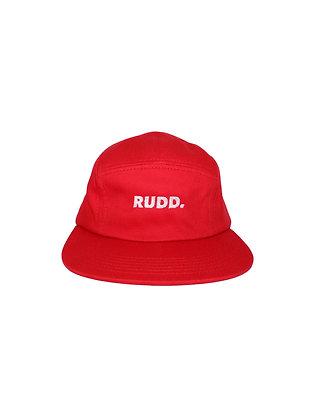 Red-Orange Camp Hat
