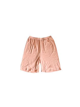 Peach Up-Cycled Shorts